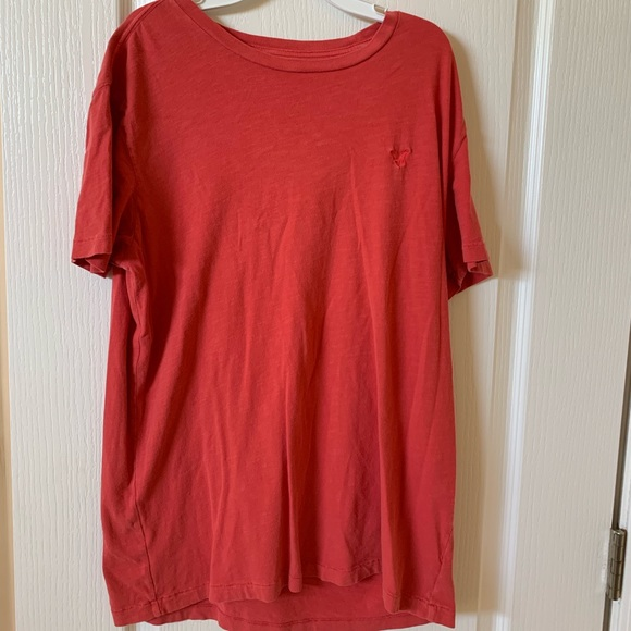 American Eagle Outfitters Other - SIZE M RED MENS TEE